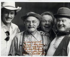 Grandpa Jones, Roy Clark, Dub Taylor