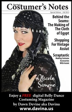 138 best bellydance library books images on pinterest belly free digital magazine costumers notes special edition the making of the cloth of egypt 108 pages of photos articles hints and tips for working fandeluxe Choice Image