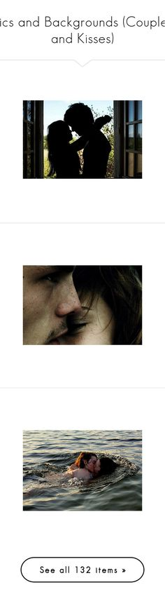 """""""Pics and Backgrounds (Couples and Kisses)"""" by giovanna1995 ❤ liked on Polyvore featuring love, couple, kiss, pic, background, couples, people, pictures, backgrounds and photos"""
