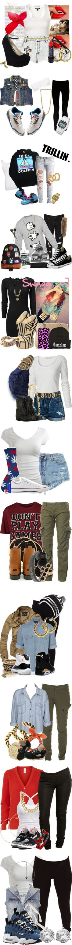"""""""I look awesome in."""" by schwagger ❤ liked on Polyvore"""