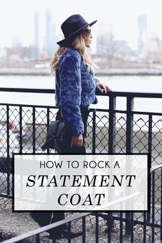 How to Wear a Statement Coat - Quartz & Leisure