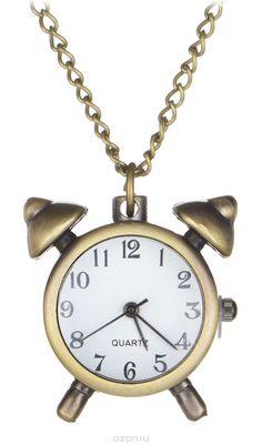 Кулон-часы Будильник. ANTIK-041