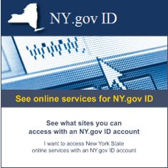 Click to see Online Services for NY.gov ID