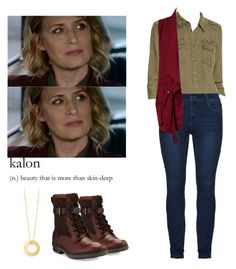 """Mary Winchester - spn / supernatural"" by shadyannon ❤ liked on Polyvore featuring Paige Denim, Sanctuary and UGG"