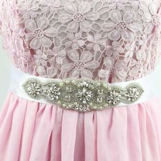 4,4 Clearance Sale! 1 Piece Elegant Charming Silver Rhinestone Appliqued Lace Belt for Wedding Dress Decor R80-in Belts & Cummerbunds from Women's Clothing & Accessories on Aliexpress.com | Alibaba Group