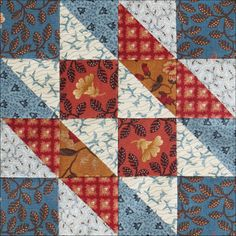 Civil War Quilts: 39 Hovering Hawks