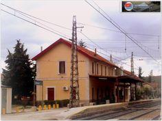 Estación de Navalperal. http://ju5modelismo.blogspot.com.es/