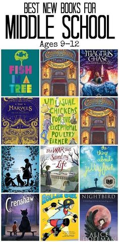 Best New Books for Middle School and Late Elementary of 2015 | The Jenny Evolution