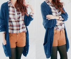 Back to school outfit idea (Love this cardigan)