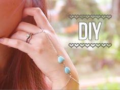 Slave Bracelet / Wrist Ring Bracelet ♥ DIY