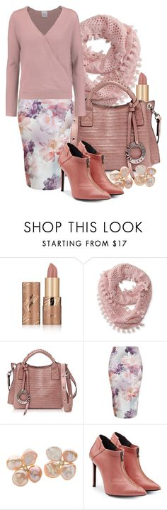 """Blush"" by i-love-shoes ❤ liked on Polyvore featuring tarte, Aéropostale, Francesco Biasia, New Look, Roland Mouret and Madeleine Thompson"