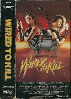Wired To Kill aka Booby Trap (1986) Wasteland/Sci-fi/Action -------Have tiny toy robot, will travel.