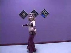 Belly Dance Hannah 9 years old to Amr Diab