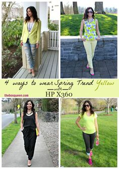 FOUR WAYS TO WEAR SPRING TREND YELLOW | The Box Queen