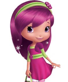 Raspberry Hair, Raspberry Torte, Raspberry Color, Tutti Frutti, Strawberry Shortcake Characters, Strawberry Shortcake Birthday, Cartoon Wallpaper Iphone, Disney Wallpaper, Hello Kitty