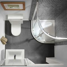 Basement bathroom http://bestofremodeling.info/how-to-hire-a-contractor-for-home-projects/