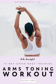 Arms Toning Workout | Upper Body Yoga Workout | Get ready for some real results with this 13 Days to Ultra Toned Arms & Upper Body Calendar! You will tone, define & sculpt your arms, as well as your entire upper body in a challenging, but fun routine. | At Home Workouts for Women | Online Yoga Tutorial Class | Upper Body Toning Exercises | No Equipment Arms Exercises | Yoga Arms Poses | Yoga Fitness | Yoga Asanas | Yoga for Beginners | Juliana Spicoluk | Boho Beautiful yoga poses for beginners YOGA POSES FOR BEGINNERS | IN.PINTEREST.COM #HEALTH #EDUCRATSWEB