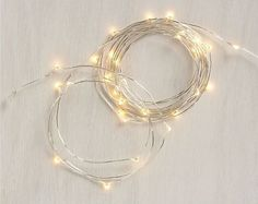 One clue that you're in a hipster home? Indoor string lights ($10). The metallic color and thin cords make these acceptable all year long, but it also helps that they're perfect for the holiday season.    Indoor Lights