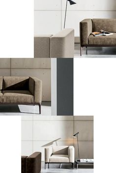 When the minimalism meets comfort. The Slim #sofa is the perfect solution for any type of #living area thanks to its modular and customizable seats. Technology Design, Modular Sofa, Aluminum Metal, Glass Design, Polished Chrome, Slim, Living Area, Interior, Minimalism