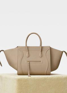 74d2daf7b1 Medium Luggage Phantom bag in baby grained calfskin