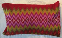 Hand woven Cushion from Mizoram, North East India