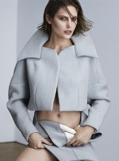 Catherine McNeil for Russh Magazine December/January 2013/14 | The Fashionography