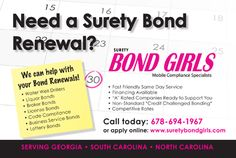 About Us | Surety Bond Girls, LLC