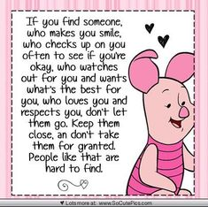 Friends that are magic Piglet Quotes, Hug Quotes, Winnie The Pooh Quotes, Life Quotes, Special Friend Quotes, Best Friend Poems, Special Friends, Strong Quotes, Positive Quotes
