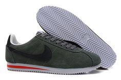 Nike Cortez V1 Mørkgrøn Grå Sort Herre Nike Cortez, Yeezy, Nike Free, Adidas Sneakers, Shoes, Fashion, Moda, Zapatos, Shoes Outlet