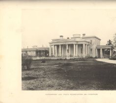 """""""'Gaineswood,' Gen. Polk's Headquarters 1863 - Demopolis."""" :: Alabama Photographs and Pictures Collection"""