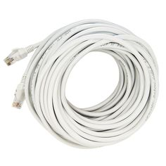 100ft / 30M CAT5 CAT5E Ethernet LAN Network Patch Cable-White