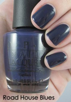 OPI Road House Blues, from the fall 2011 Touring America collection. I *love* this!