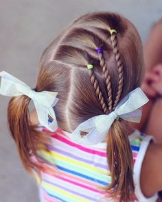 coiffure fillette pour école #hairstyles #girl