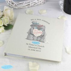 Personalised Me To You Wedding Album: Item number: 3546196415 Currency: GBP Price: Wedding Day Gifts, Unique Wedding Gifts, Personalized Wedding Gifts, Wedding Photo Albums, Wedding Album, Wedding Photos, Tatty Teddy, 6 Photos, Unusual Gifts