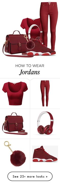 """""""Swag"""" by raquel-june on Polyvore featuring Beats by Dr. Dre, H&M, The Cambridge Satchel Company, NIKE and Michael Kors"""