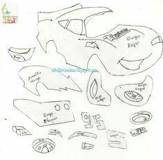 Cars molde