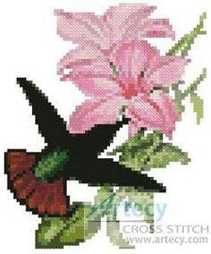 cross stitch hummingbird patterns