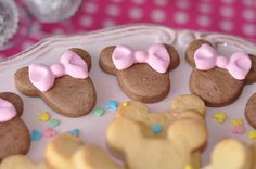 Minnie Party Cookies