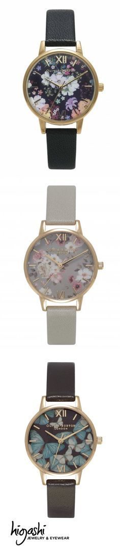 It's about TIME for back-to-school shopping. Browse our collection of Olivia Burton watches.