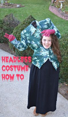 #write31days – Headless Costume How To  #halloweencostumes #halloween2017