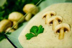Krémová šampiňónovo zemiaková polievka