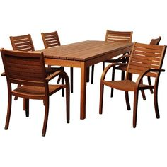 Outdoor Dining Set, Patio Dining, Dining Chairs, Dining Table, 3 Piece Dining Set, Dining Room Sets, Backyard Furniture, Patio Furniture Sets, Solid Wood Table Tops