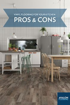 When it comes to redoing your kitchen floors, there's a wide variety of options to choose from. You want one that's durable but also pleasing to the eye. Vinyl flooring has become an increasingly popular floor choice for the kitchen for many reasons. But, like with any flooring material, there are pros and cons to be considered before moving forward, and we have them to help you out.