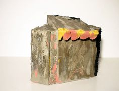 Shack, Phyllida Barlow, 2007, Plywood, cement sand canvas paint