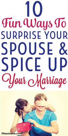 Spicing up marriage
