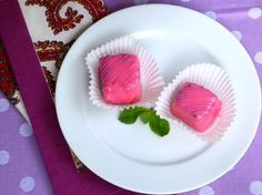 Secret Garden Recipe: Pink Ice Petit Fours