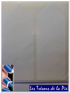 TIP GUIDES MANUCURE ONGLES (x26) - Nail art & french manucure - Blanc