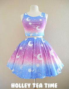 This is adorable 😍 Crop Top Outfits, Cute Casual Outfits, Pretty Outfits, Pretty Dresses, Beautiful Dresses, Girls Fashion Clothes, Teen Fashion Outfits, Kids Outfits, Fashion Dresses