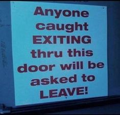Funny signs - Gallery