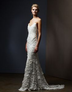 Love this texture! Selia Yang - Bridal and Evening Collection ...